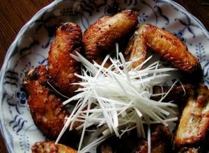 鶏の手羽焼き