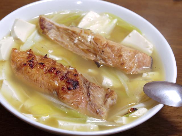 鮭と豆腐の蒸し煮