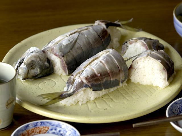 鯵の姿寿司