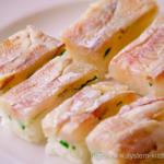 小鯛の押し寿司