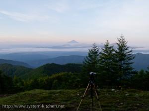 富士山を撮影