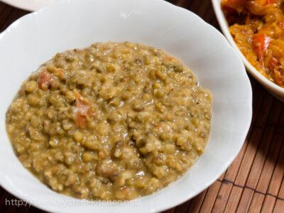 ムング豆のカレー