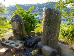 竜王山山頂の石碑