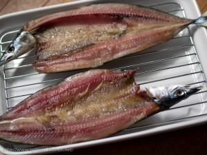一夜干し(秋刀魚)