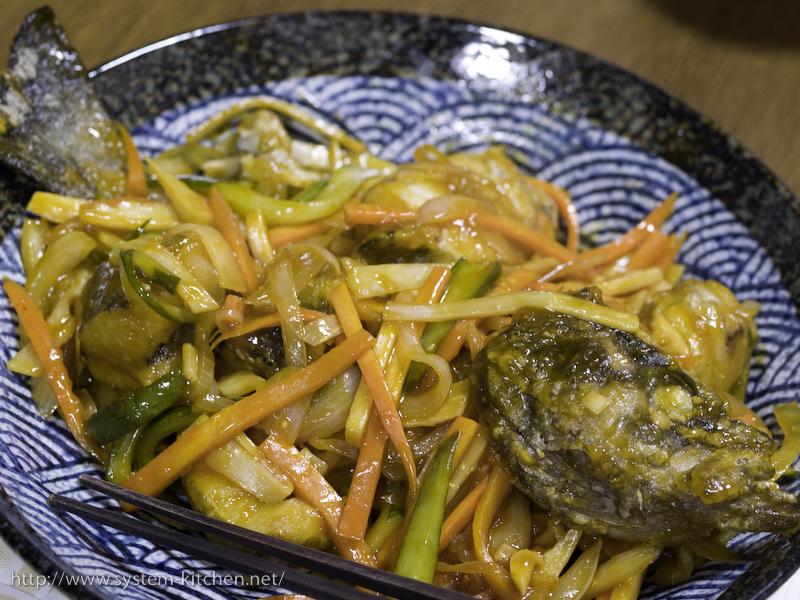 醋溜魚(魚の甘酢あんかけ)