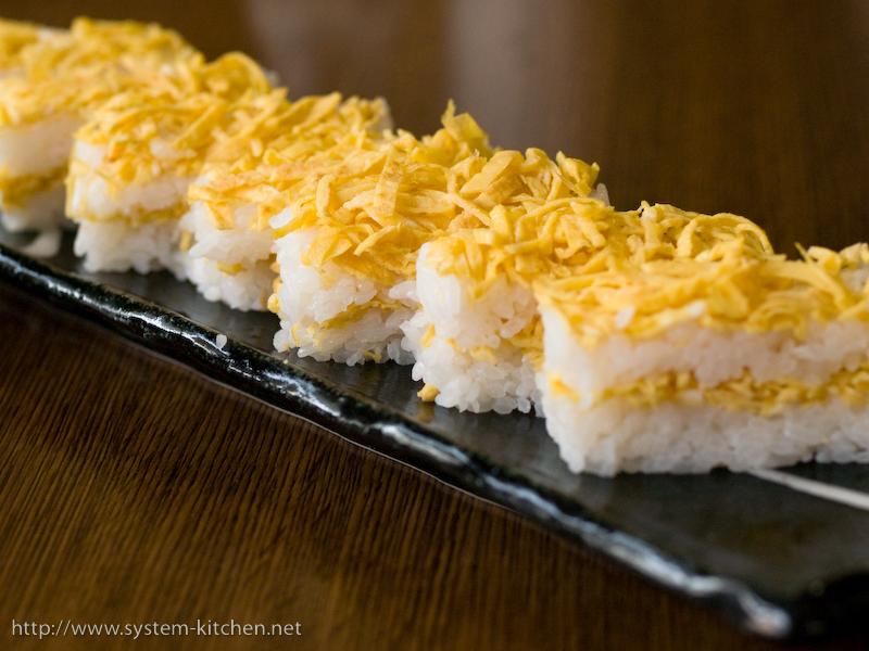 錦糸卵寿司