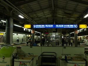 茅野駅バス乗り場