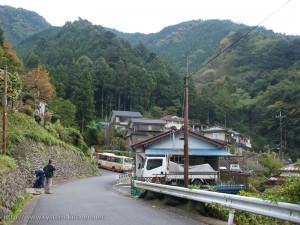 清東橋バス停付近