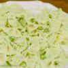 グリーンピース(エンドウ豆)のパスタ
